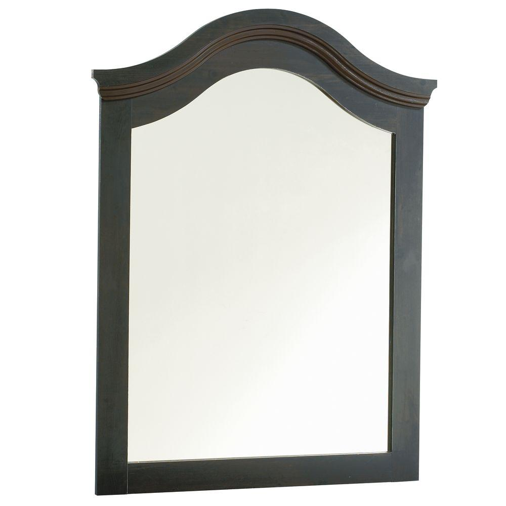 South Shore Lodge Collection Mirror- Ebony-DISCONTINUED