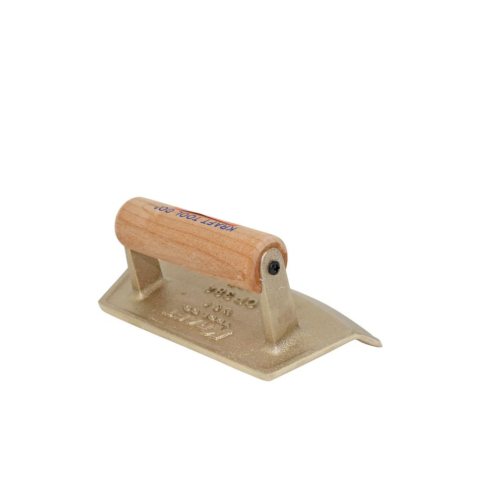 7 in. x 4 in. Chamfer Tube Bronze Edger - Wood