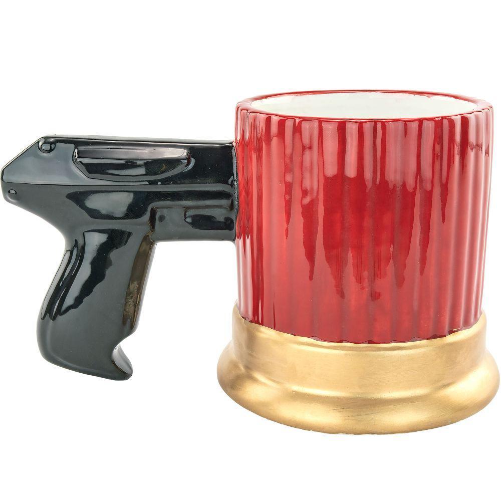 10 oz. Red  Shotgun Shell Coffee Mug