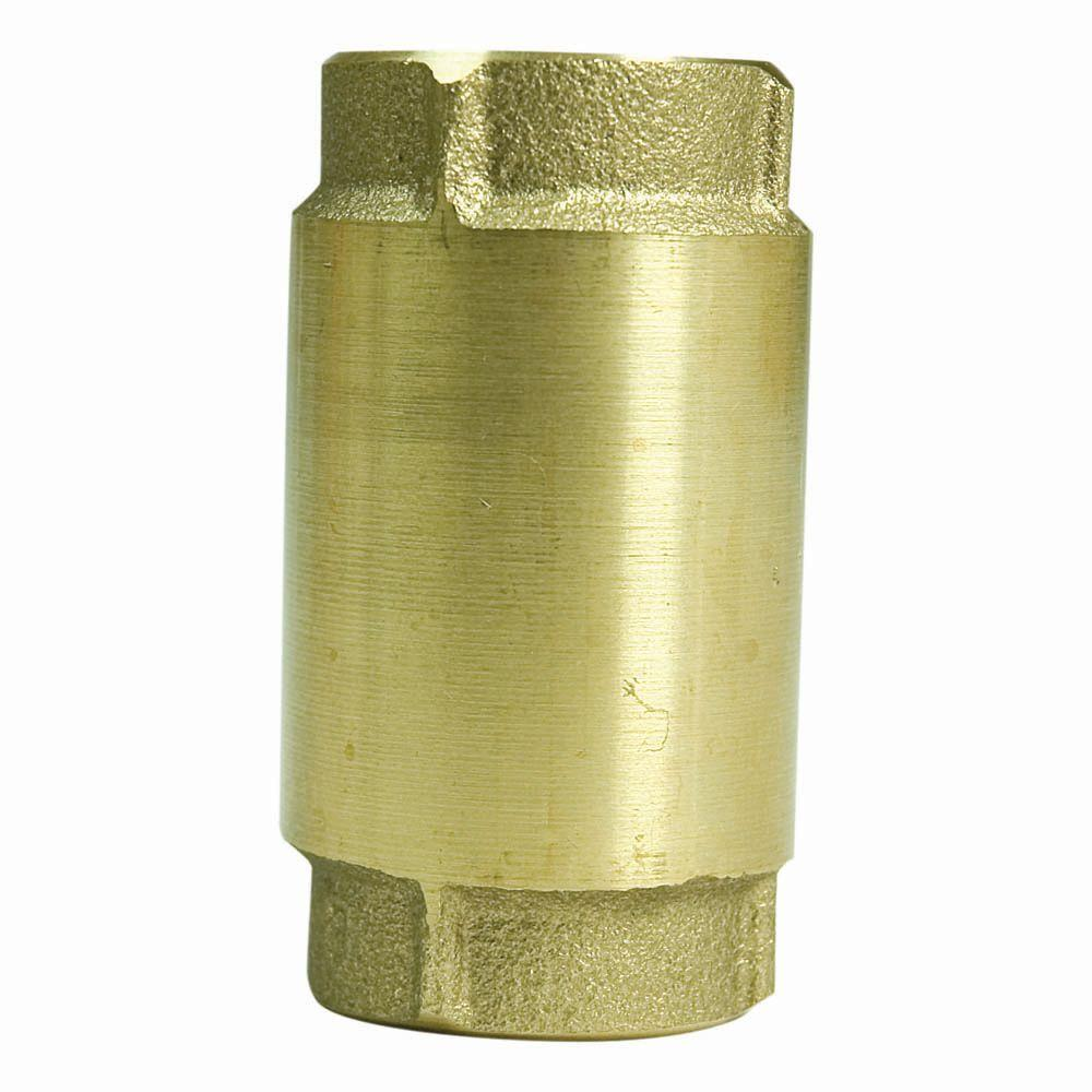 Parts20 3/4 in. Lead Free Brass Check Valve