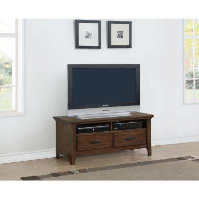 Rockwell Distressed Wheat TV Stand