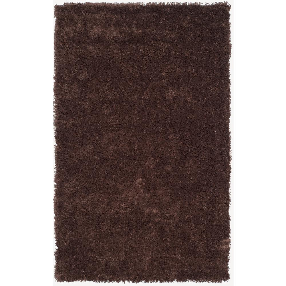 Classic Shag Ultra Chocolate 7 ft. 6 in. x 9 ft.