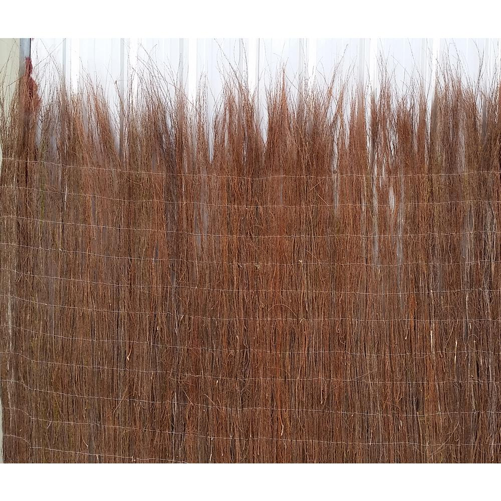 MGP 72 in. H Untrimmed Heather Rolled Garden Fence
