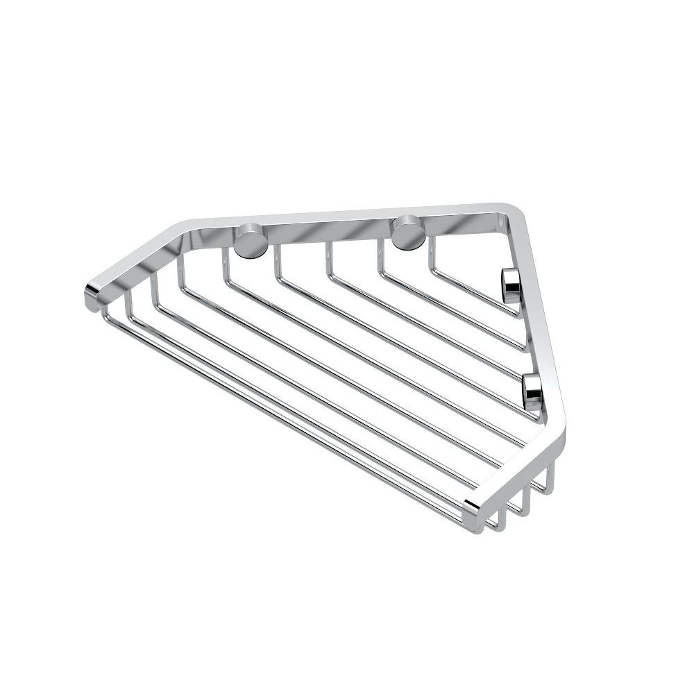 Gatco Shower Basket in Chrome-1495 - The Home Depot