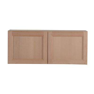 Assembled 36x15x12 in. Easthaven Wall Cabinet in Unfinished German Beech