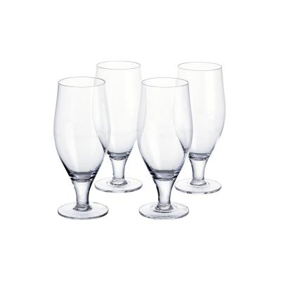 Home Decorators Collection 22.65 fl. oz. Tulip Beer Glasses (Set of 4)
