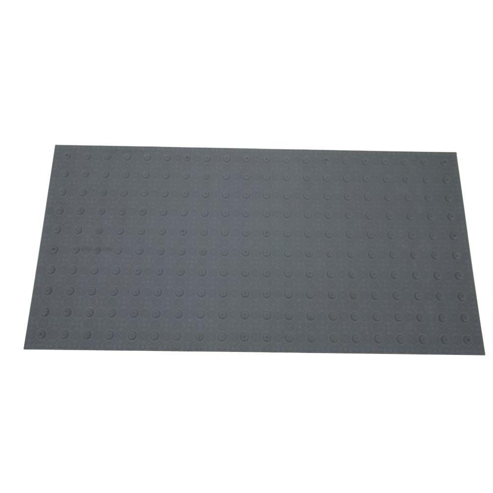 2 ft. x 4 ft. Dark Gray Detectable Warning Tile