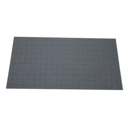 2 ft. x 4 ft. Dark Gray Detectable Warning Tile