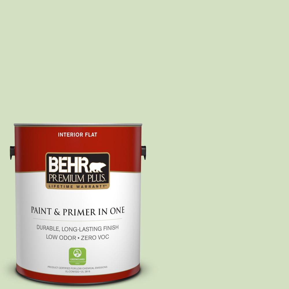 BEHR Premium Plus 1-gal. #P380-3 Irish Folklore Flat Interior Paint