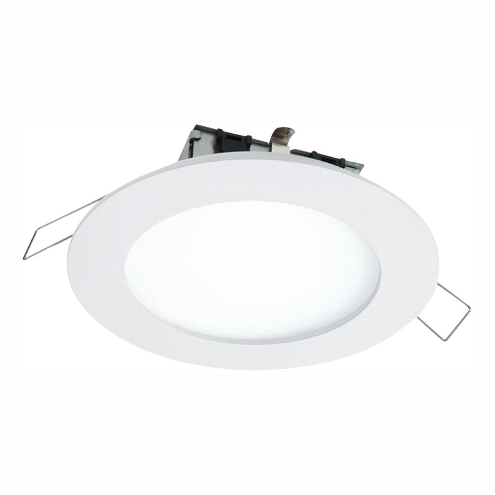 Halo smd dm 4 85 in 3000k lens white remodel round surface mount recessed integrated led trim kit