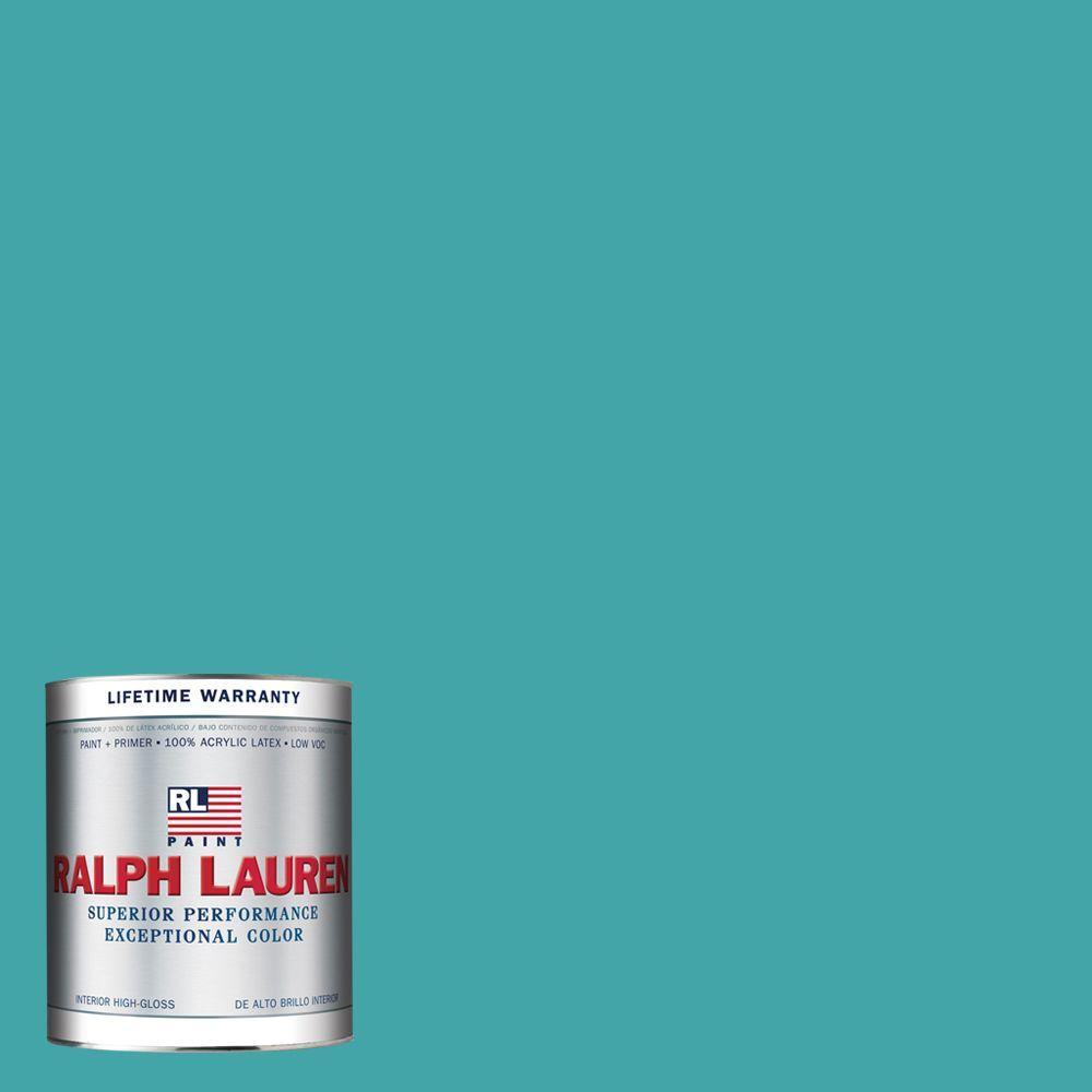 Ralph Lauren 1-qt. Blue Crab Hi-Gloss Interior Paint