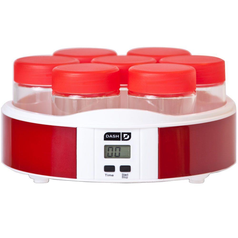 Dash 7-Cup Yogurt Maker in Red