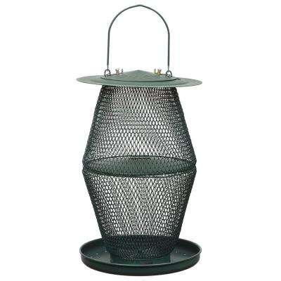 Forest Green Lantern Wild Bird Feeder