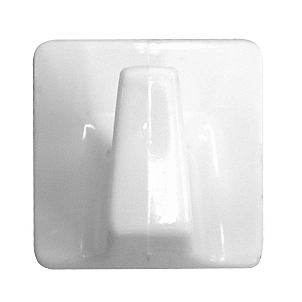 2 lb. Large Plastic Self-Adhesive All-Purpose Hook