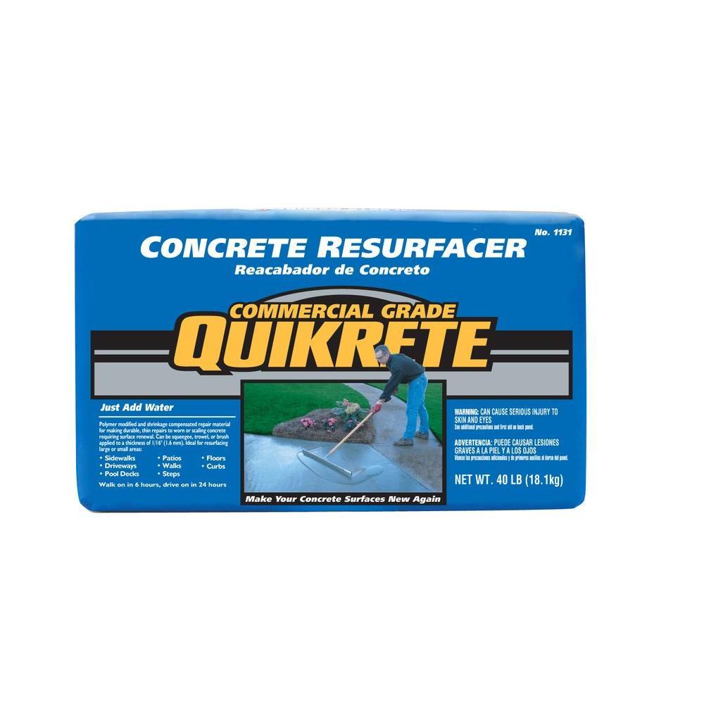 Quikrete 40 lb  Concrete Resurfacer