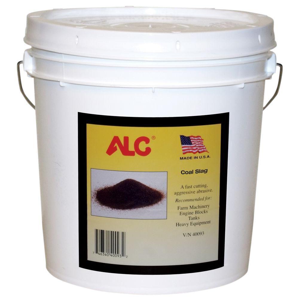 ALC 25 lbs. Coal Slag Blasting Abrasive