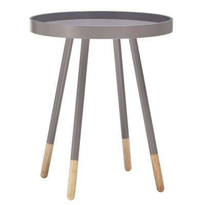 Hanna Grey Tray Side Table