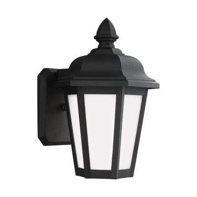 Brentwood 1-Light Black Outdoor Wall Mount Lantern