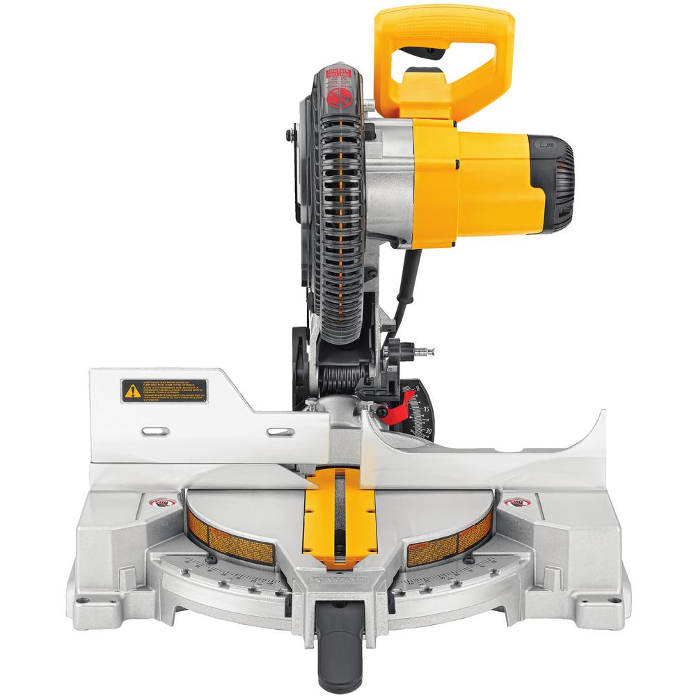 dewalt 15 amp corded 10 in compound miter saw dw713 the. Black Bedroom Furniture Sets. Home Design Ideas