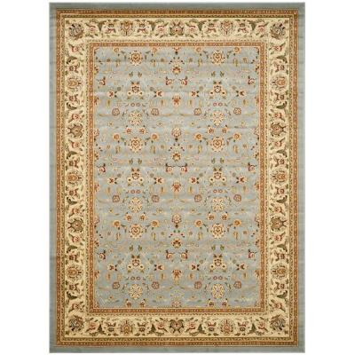 Lyndhurst Light Blue/Ivory 8 ft. x 10 ft. Area Rug