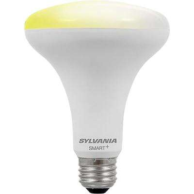 65-Watt Equivalent BR30 Dimmable SMART LED Light Bulb-On-Off Dim