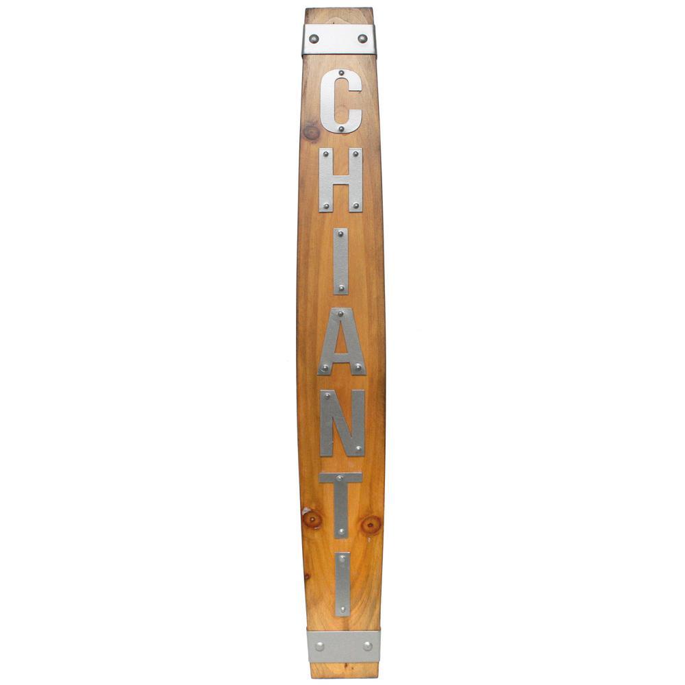 Kylan Chianti Wooden Sign