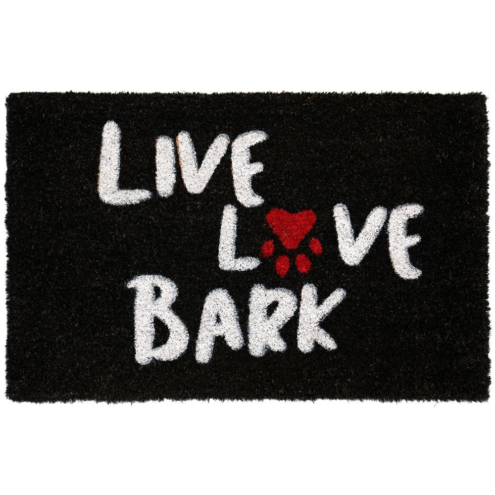 Nicole Miller Comfy Pooch Live Love Bark 18 In X 28 In