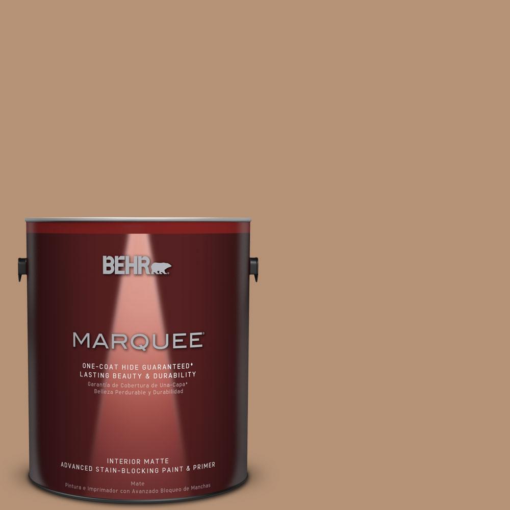 1 gal. #T13-7 Tan-gent Matte Interior Paint