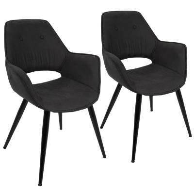 Mustang Black Accent Chair (Set of 2)