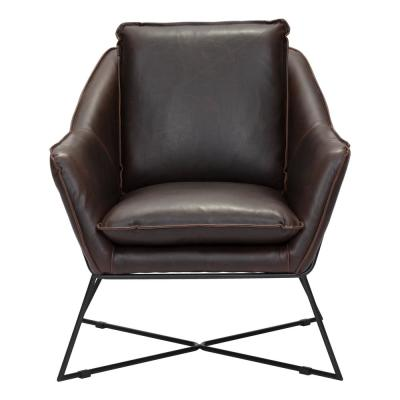 Lincoln Brown Lounge Chair