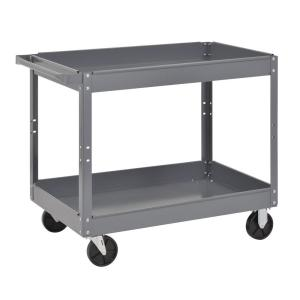 Edsal 24 inch Utility Cart, Gray by Edsal