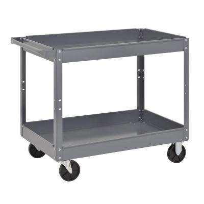 24 in. Utility Cart, Gray