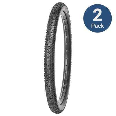 Attachi 26 in. x 2.10 in. MTB Wire Bead Tire (2-Pack)