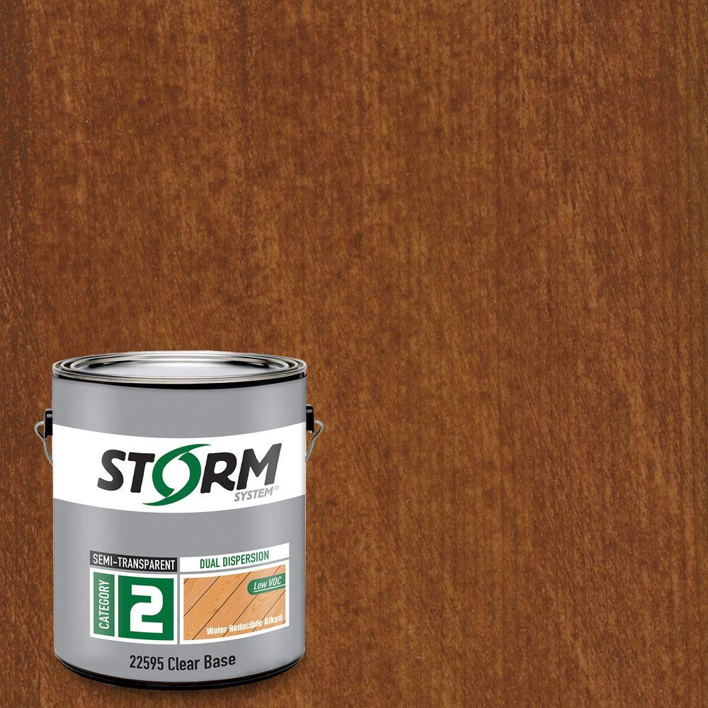 Category 2 1 gal. California Redwood Exterior Semi-Transparent Dual Dispersion