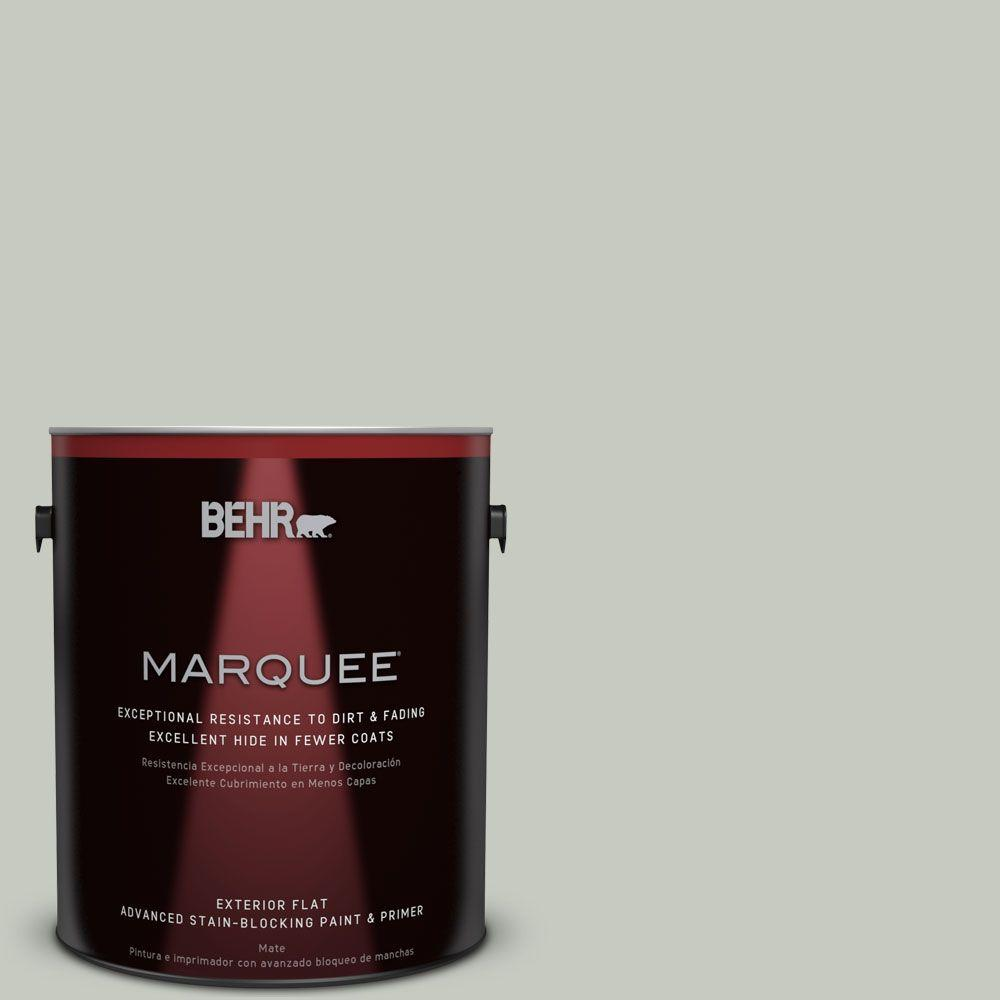BEHR MARQUEE 1-gal. #PPL-80 Dynasty Celadon Flat Exterior Paint