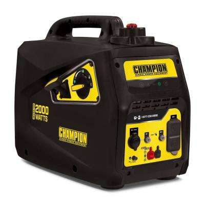 Champion 2000-Watt Parallel Ready Portable Inverter Generator