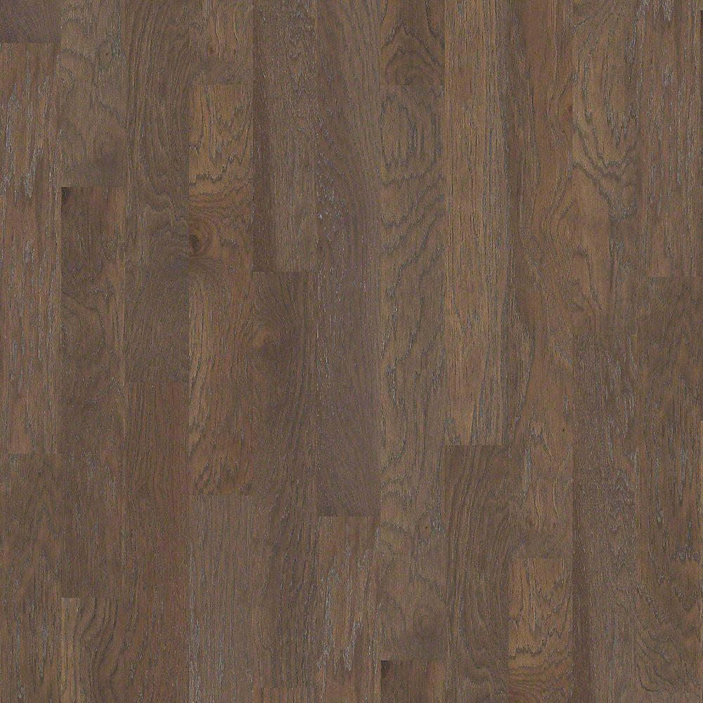 Shaw Riveria Smoked Hickory 3/8 in. x 5 in. Wide x 47.33 in. Length Click Engineered Hardwood Flooring (31.29 sq. ft. / case)