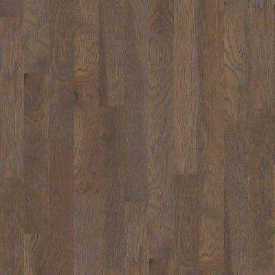 Take Home Sample - Riveria Smoked Hickory Click Engineered Hardwood Flooring - 5 in. x 8 in.