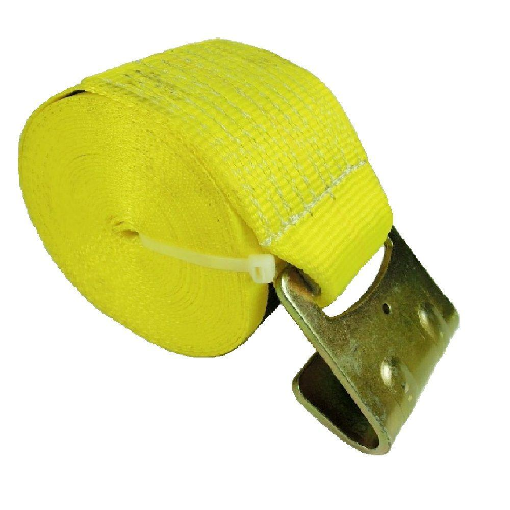 "10 4/"" x 40/' Winch Straps w// Flat Hook Flatbed Tie Down Strap HEAVY DUTY"