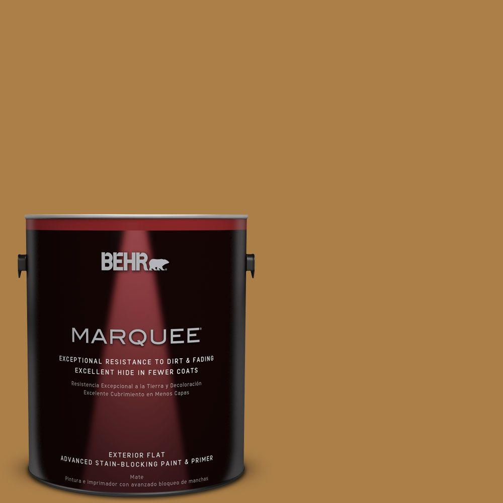 1-gal. #M280-7 24 Karat Flat Exterior Paint