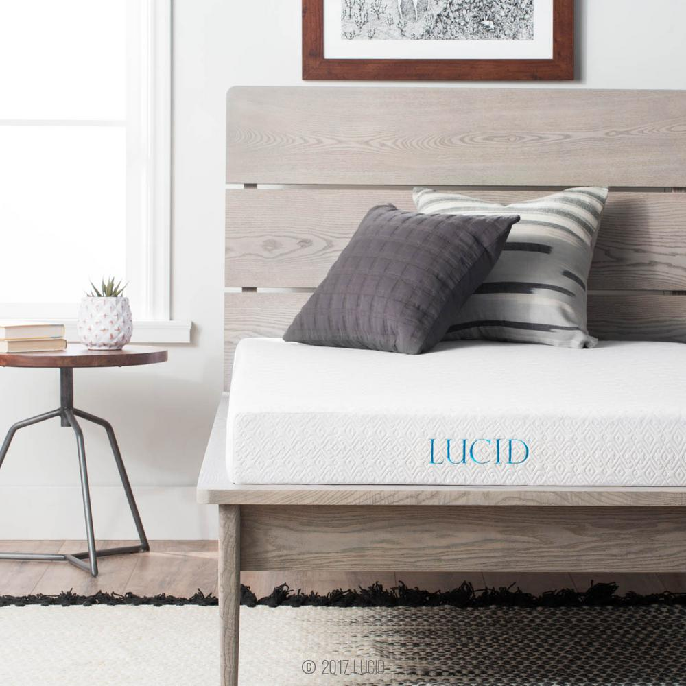 Lucid 5 In Twin Xl Size Gel Memory Foam Mattress Lu05tx45gf The