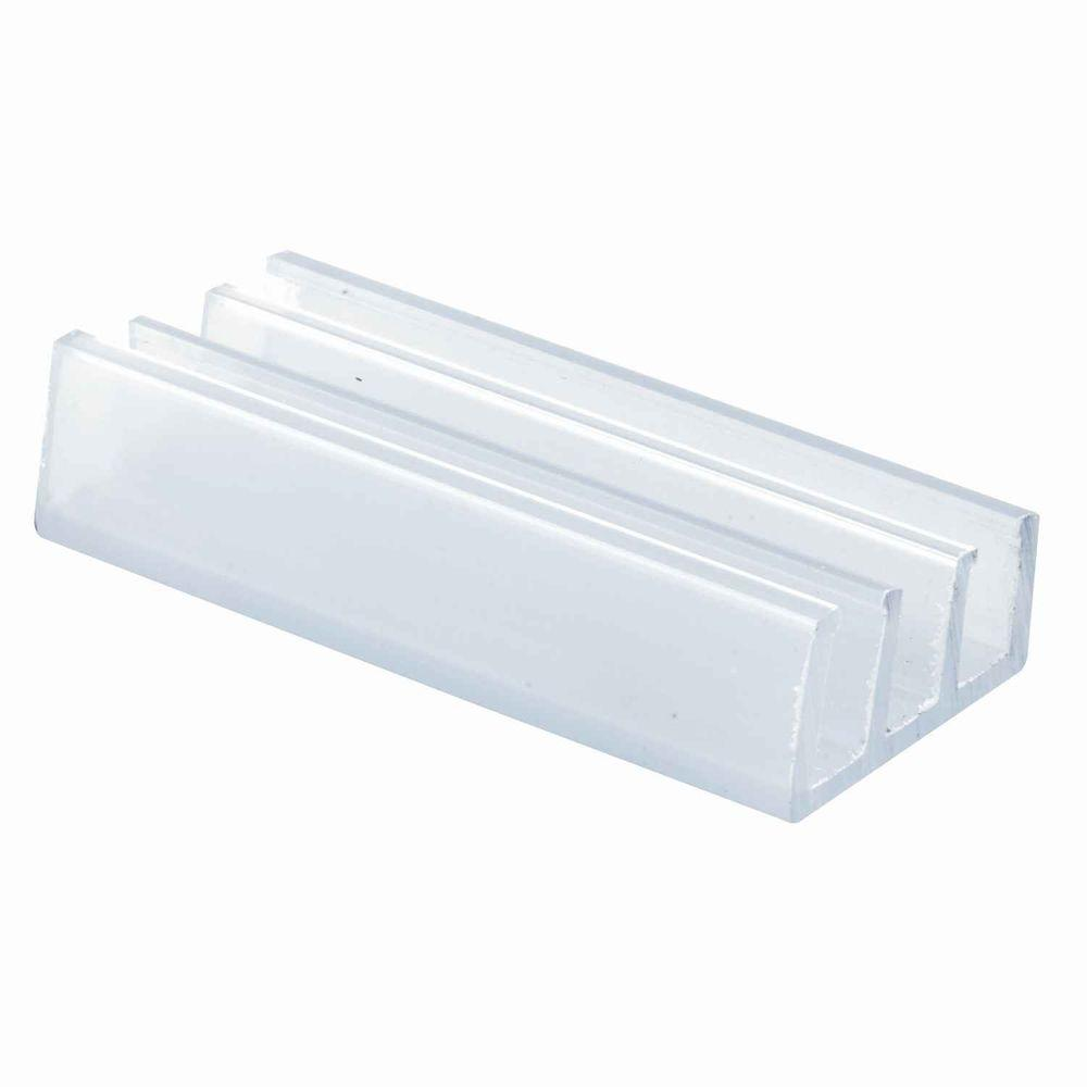 Prime-Line Frameless Tub Enclosure Bottom Guides (2-Pack)