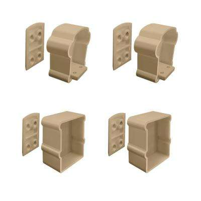 Wicker Vinyl Extra-Premier Rail Bracket Kit