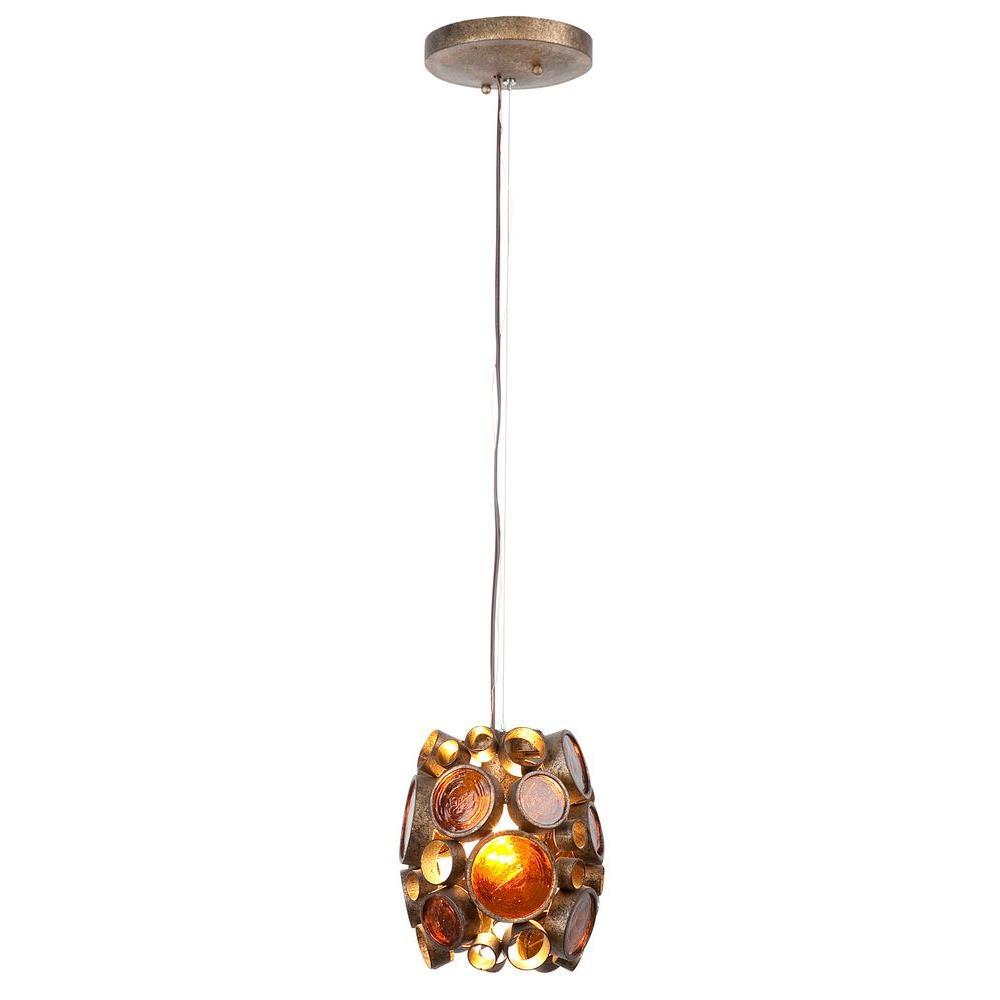 Fascination 1-Light Kolorado Mini Pendant