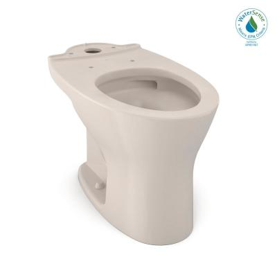 Drake Elongated Toilet Bowl Only with CeFiONtect in Sedona Beige