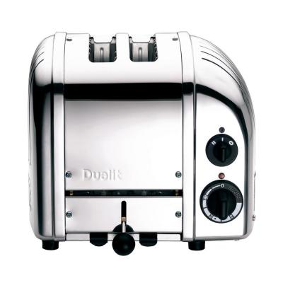 New Gen 2-Slice Chrome Wide Slot Toaster with Crumb Tray