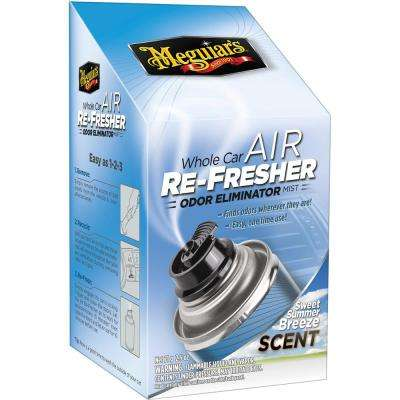 2.5 oz. Whole Car Air Refresher Odor Eliminator (Sweet Summer Breeze Scent)