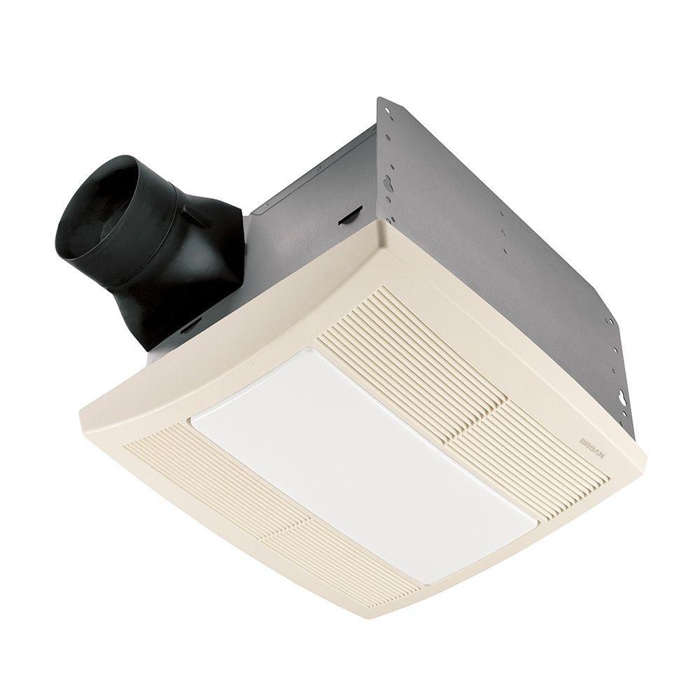 Broan qtr series quiet 110 cfm ceiling exhaust bath fan with light broan qtr series quiet 110 cfm ceiling exhaust bath fan with light and night light aloadofball Images