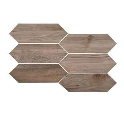 Timber Picket 4 in. x 12 in. x 8 mm Porcelain Floor /Wall Tile (10.76 sq. ft. / case)