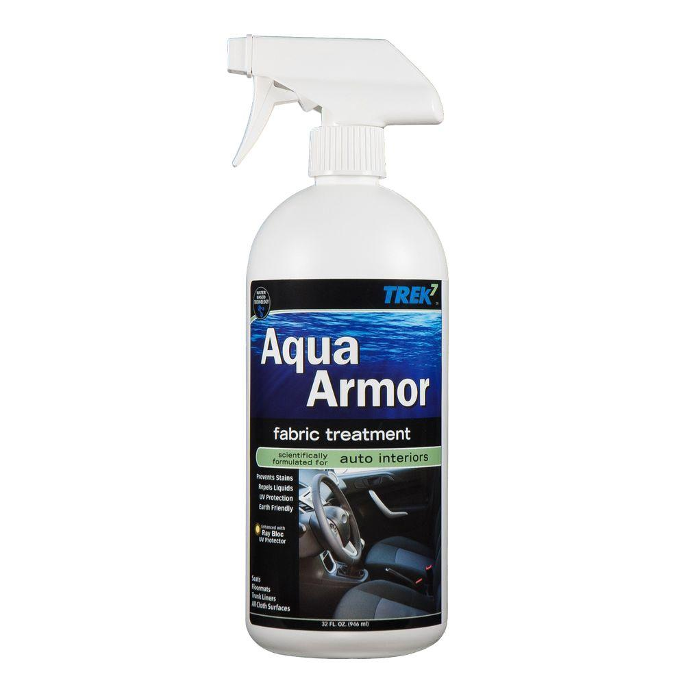 trek7 aqua armor 32 oz fabric stain protector for auto interiors aaaut32 the home depot. Black Bedroom Furniture Sets. Home Design Ideas